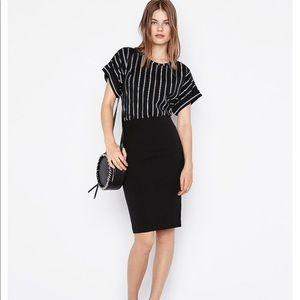 Express High Waisted Extreme Stretch Pencil Skirt